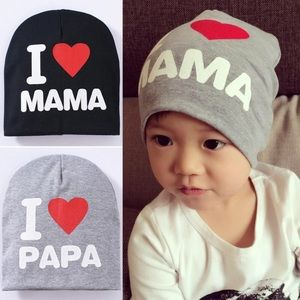 Other - Baby caps 6-12 months I ❤️ papa
